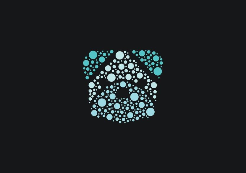 Logomark with Bubbles