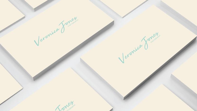 Business Card - Cream