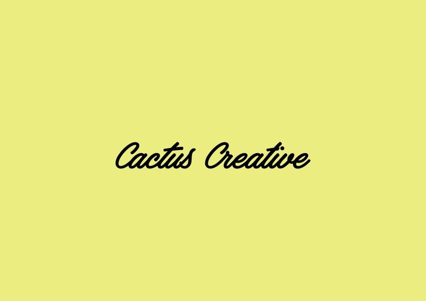 Cactus creative typo-01