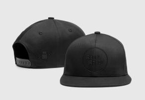 Snapback Cap all black