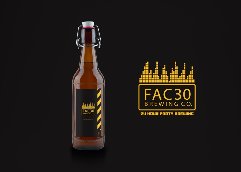 FAC30 Beer Bottle MockUp