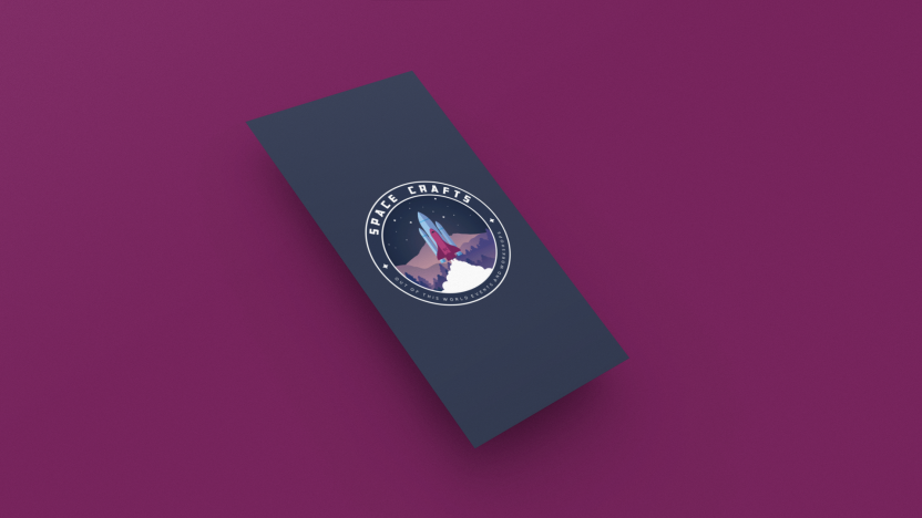 mockup-of-a-vertical-business-card-floating-over-a-solid-background-25042